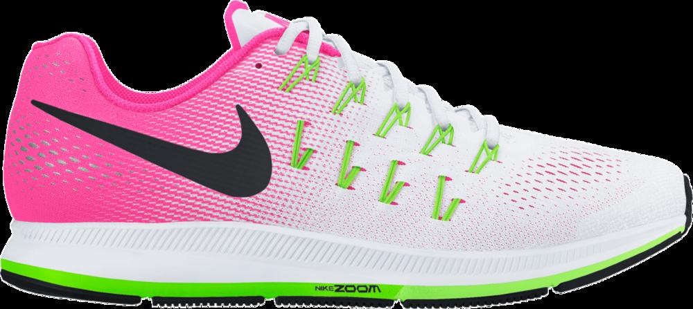 Nike Lady Pegasus 33 in Weiß Pink