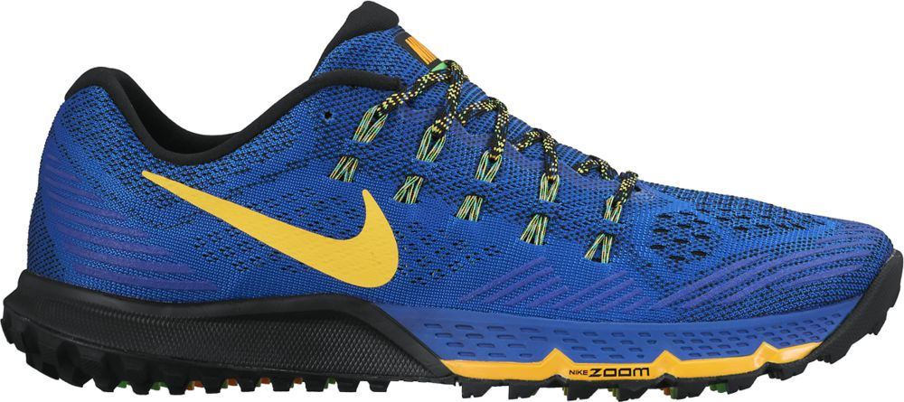 Nike Air Zoom Terra Kiger 3 in Blau Gelb