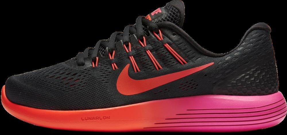 Nike Lady Lunarglide 8 in Schwarz Rot