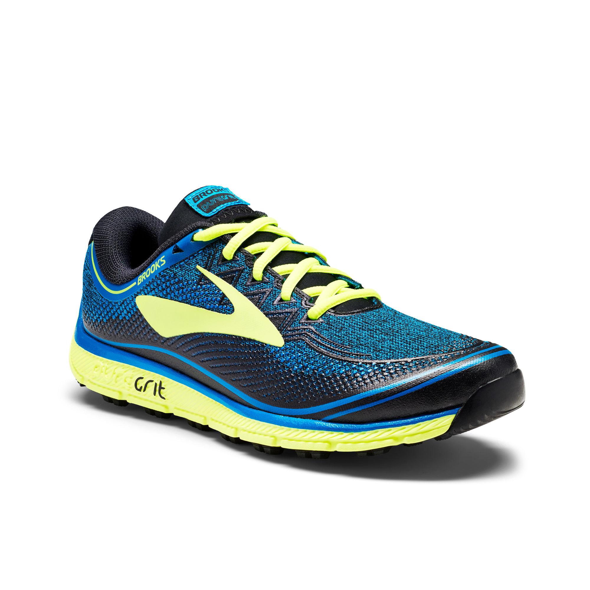 Brooks PureGrit 6 in Schwarz Blau Nightlife