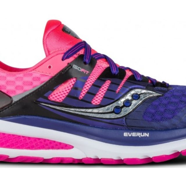 Saucony Lady Triumph ISO 2 in Blau Pink