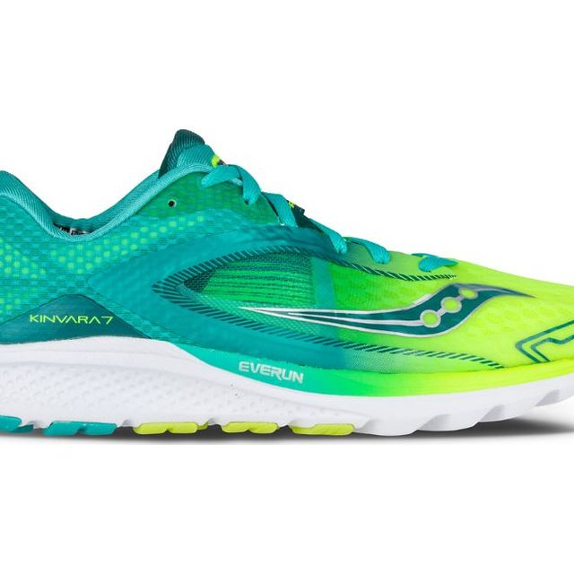 Saucony Lady Kinvara 7 in Teal/Citron