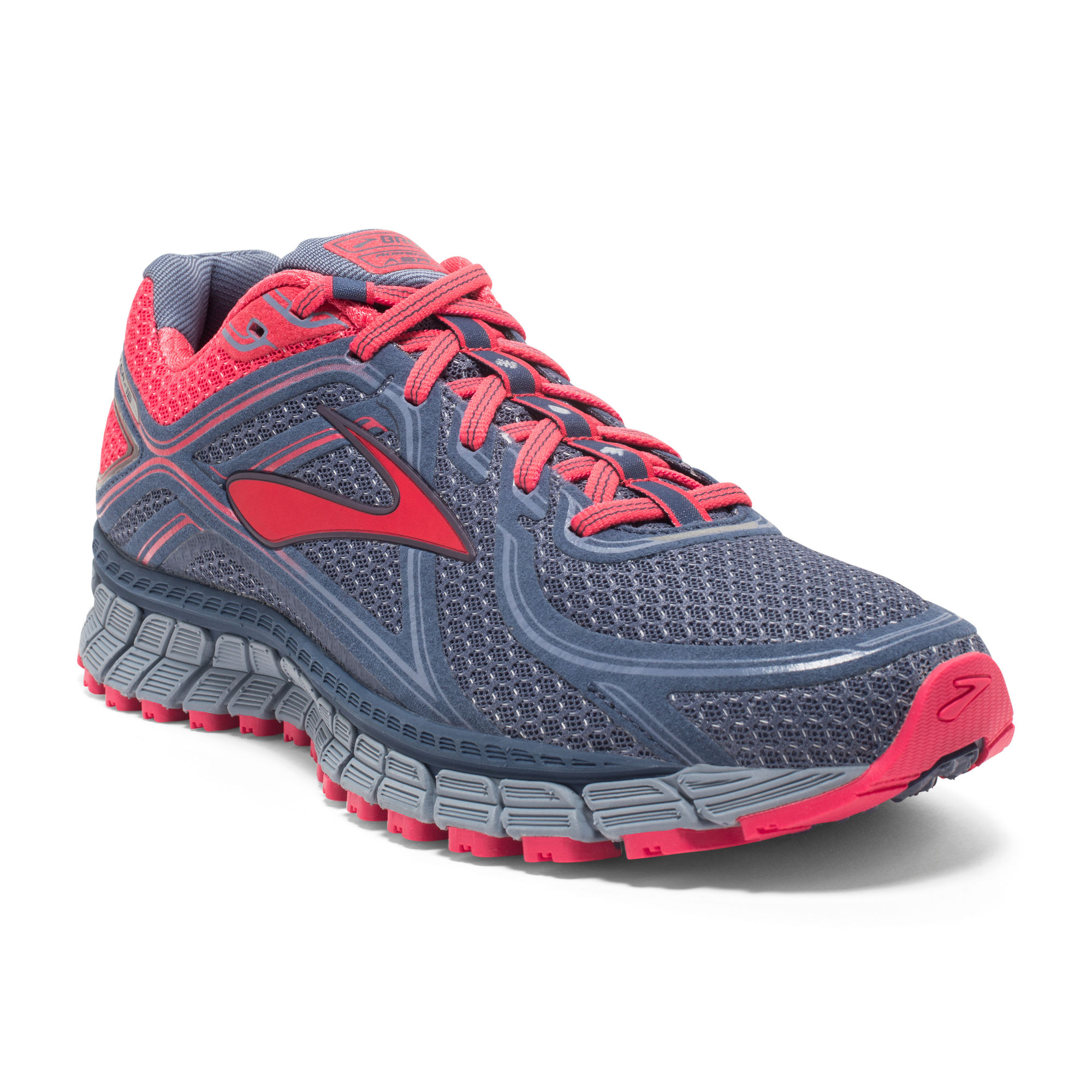 Brooks Lady Adrenaline ASR 13 in Crownblue/ Teaberry/ Stonewash