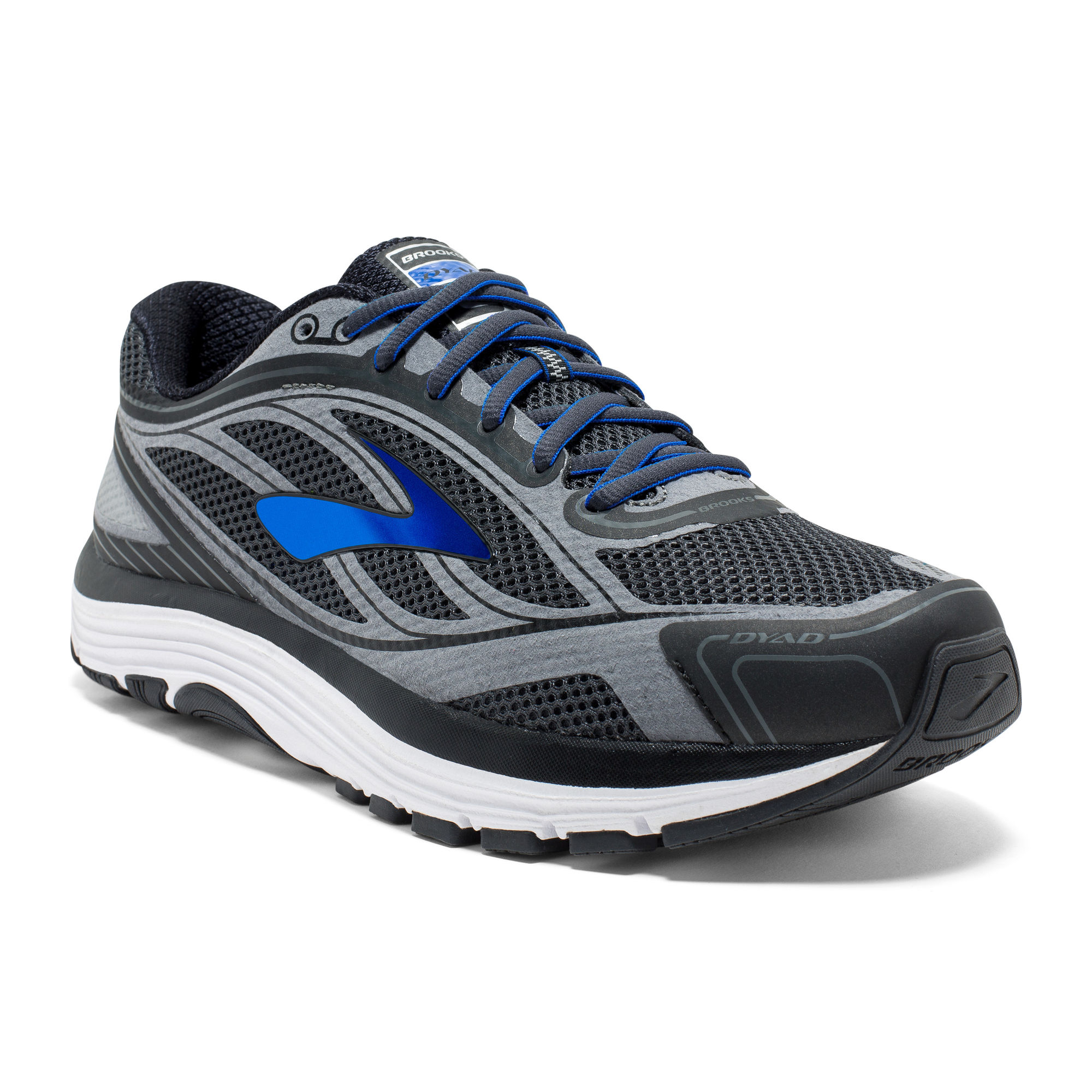 Brooks Dyad 9 4E in Grau Blau