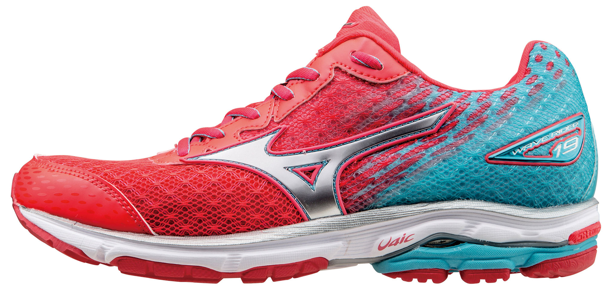 Mizuno Lady Wave Rider 19 in Pink Lila