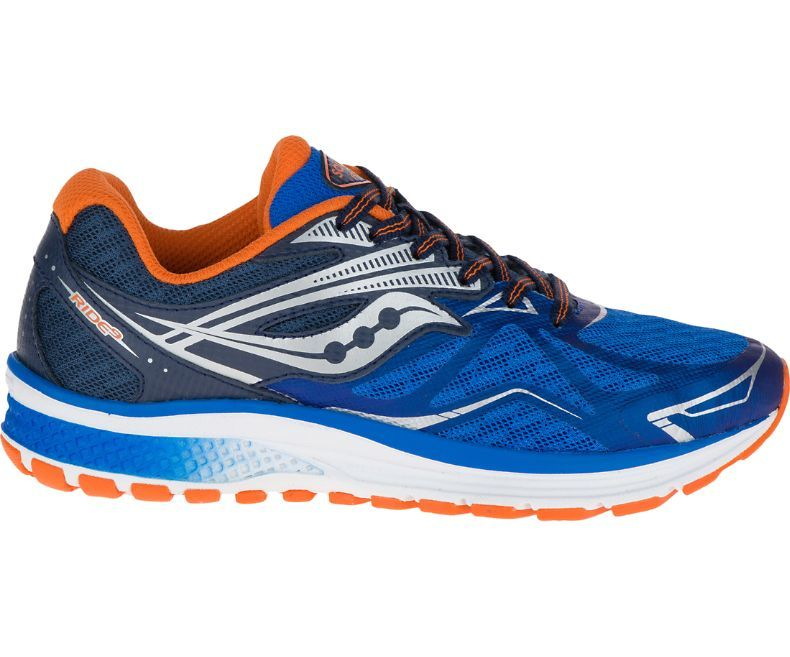 Saucony Kids Ride 9 in Blau