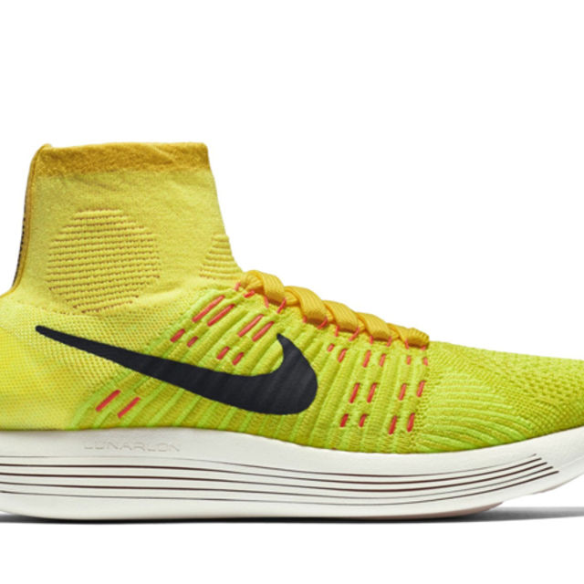 Nike Lady LunarEpic Flyknit in Volt