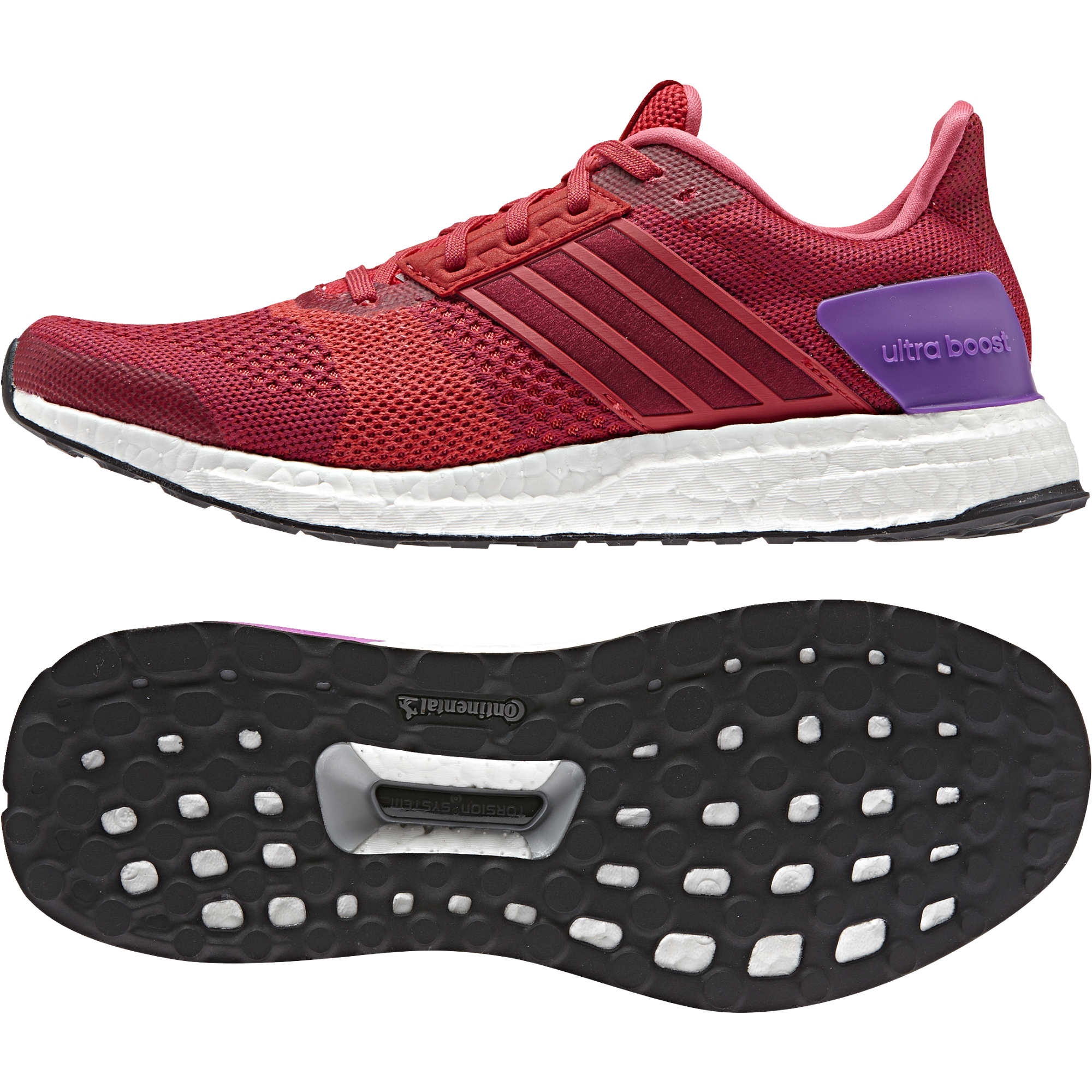 Adidas Ultra Boost ST W in Ray Red
