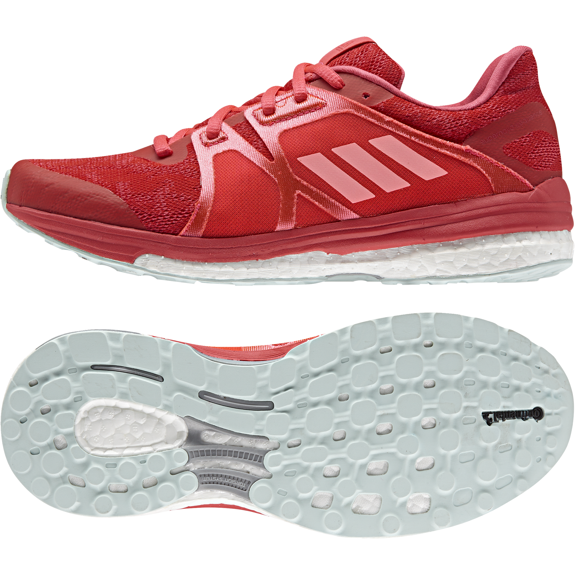 Adidas Lady SN Sequence Boost 9 in Rot