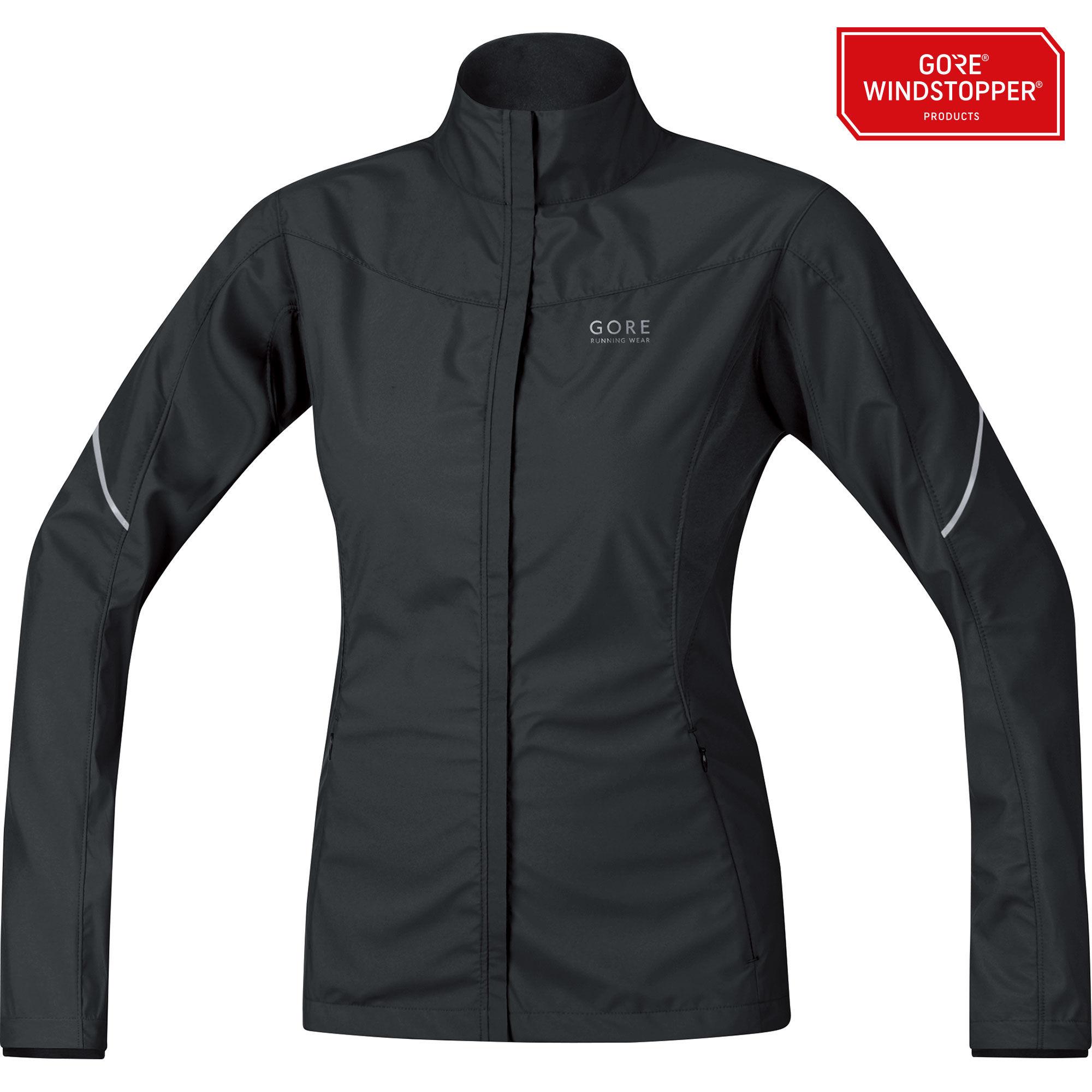 Gore Essential Lady Partial Jacket in Schwarz