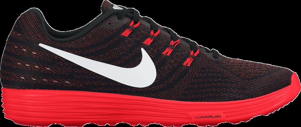 Nike Lunar Tempo 2 in Rot/Schwarz