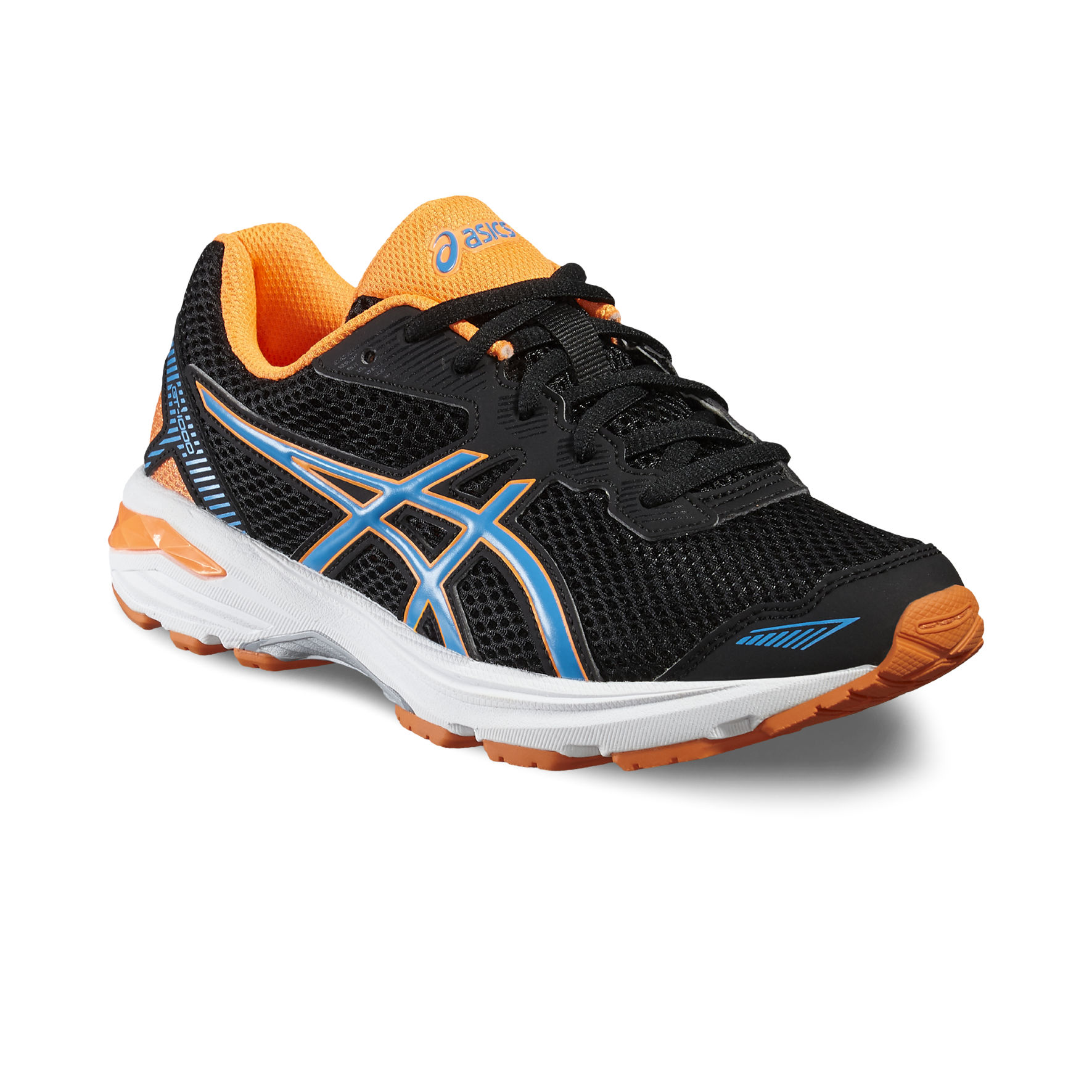 Asics GT 1000 5 GS in Schwarz Orange