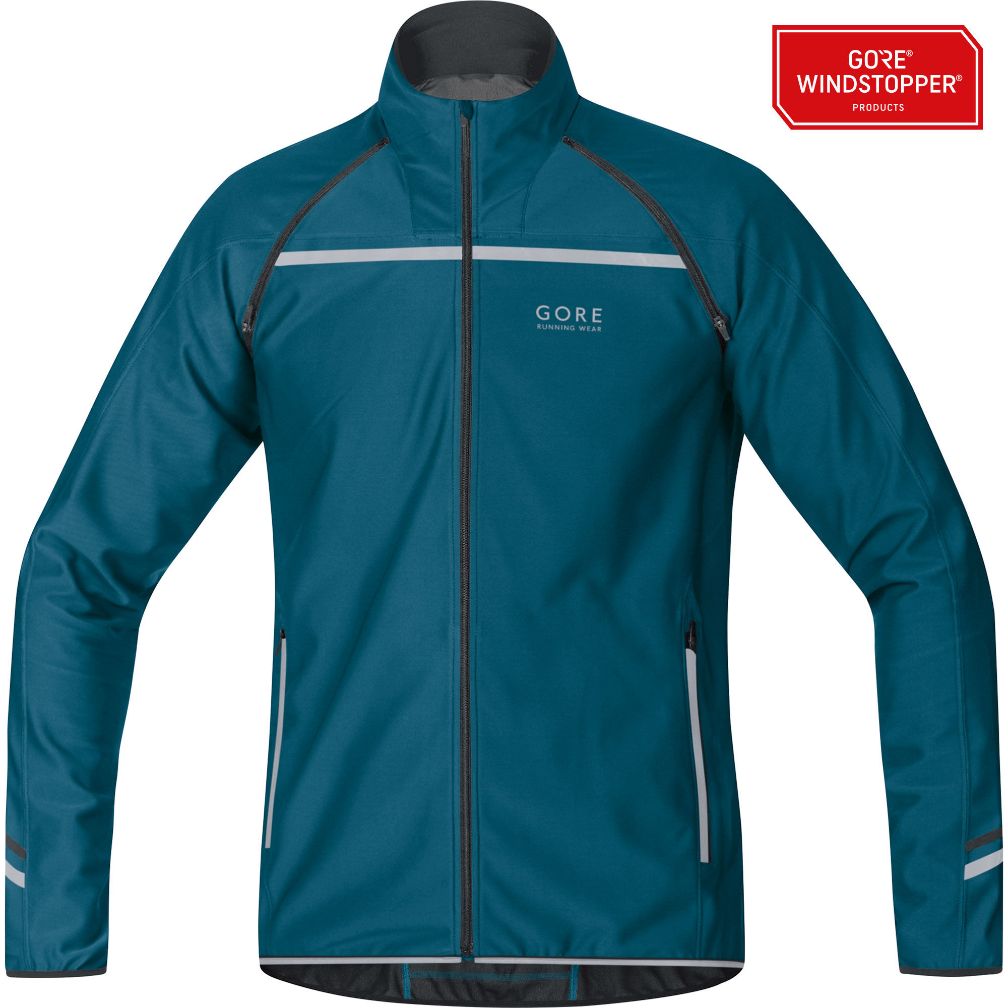 Gore Mythos 2.0 WS SO Zip-Off Light Jacket in Blau