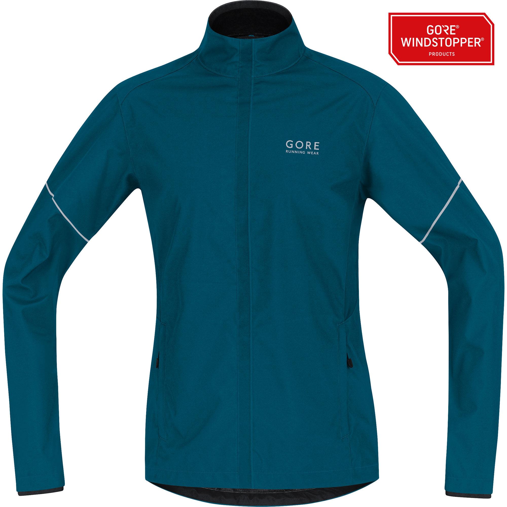 Gore Essential Partial Jacket in Blau