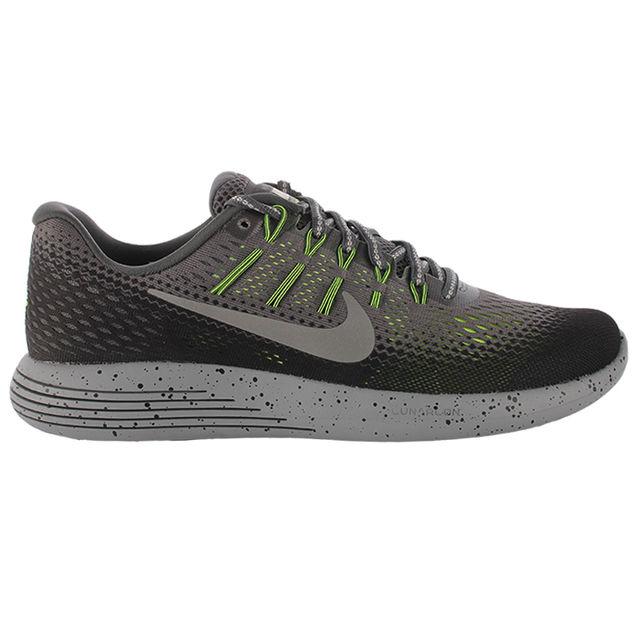 Nike LunarGlide 8 Shield in Anthrazit Volt
