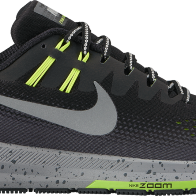 Nike Structure 20 Shield in Anthrazit/Volt