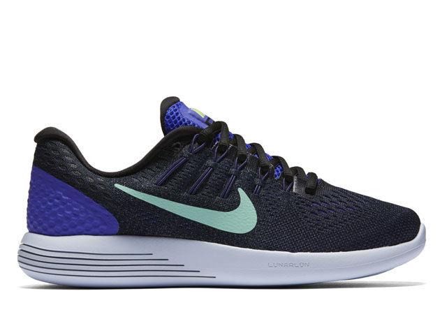 Nike Lady LunarGlide 8 in Schwarz Blau