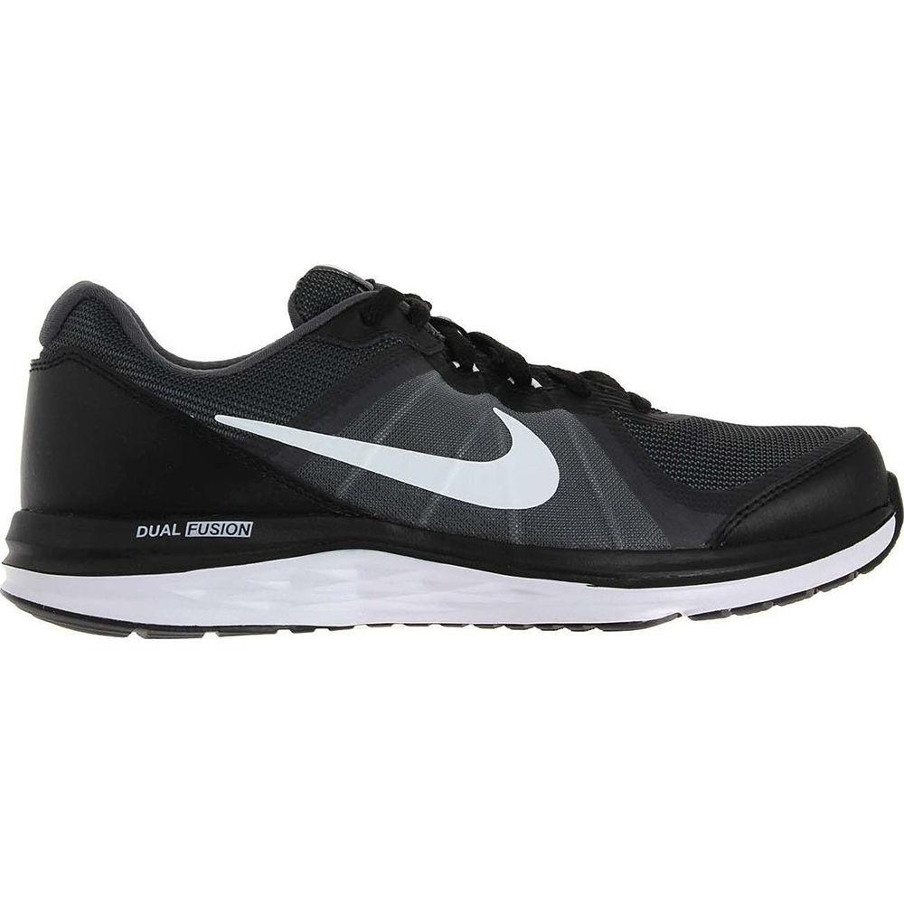 Nike Dual Fusion X2 GS in Schwarz