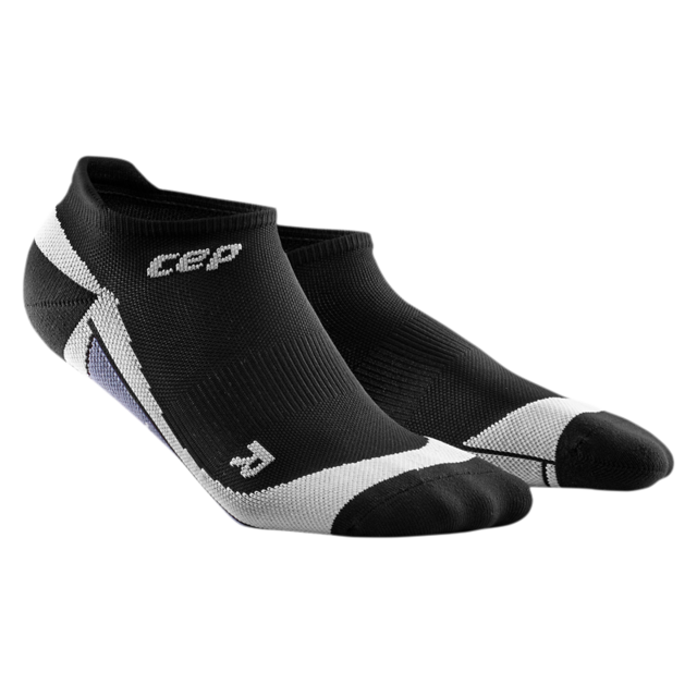 cep Women's No Show Socks in Schwarz