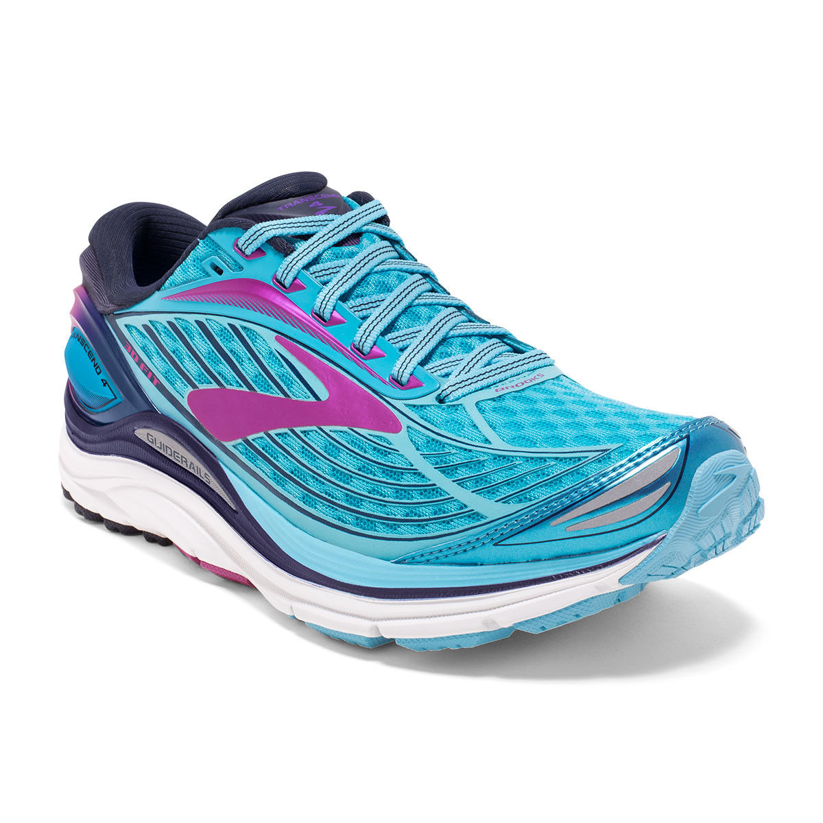 Brooks Lady Transcend 4 in Hellblau