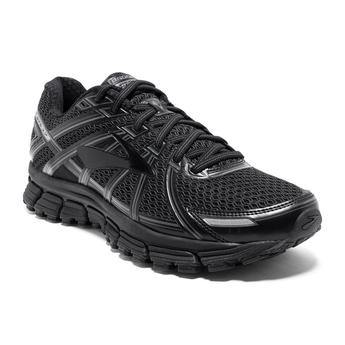 Brooks Lady Adrenaline GTS 17 B black in Schwarz