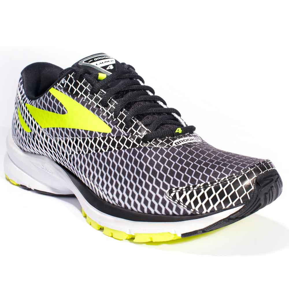 Brooks Launch 4 in Schwarz Gelb