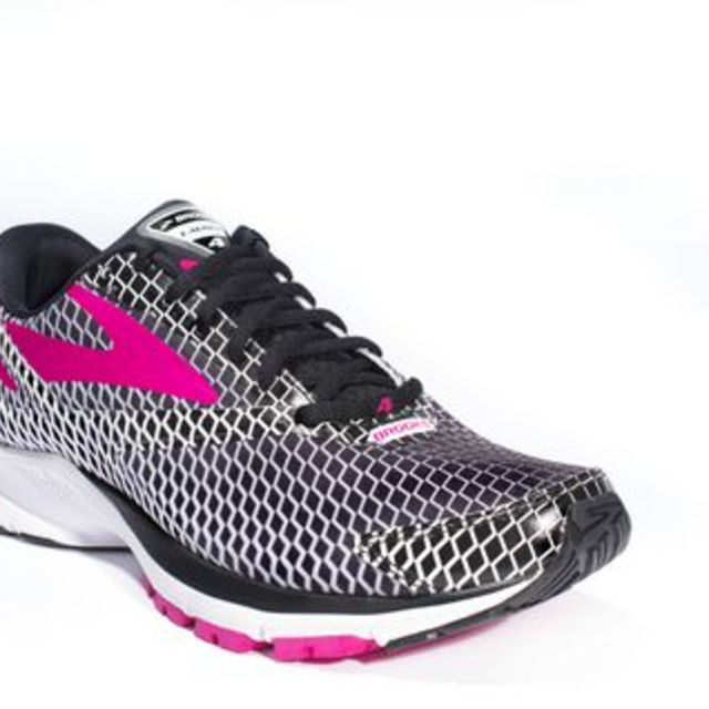 Brooks Lady Launch 4 in Pink Purple