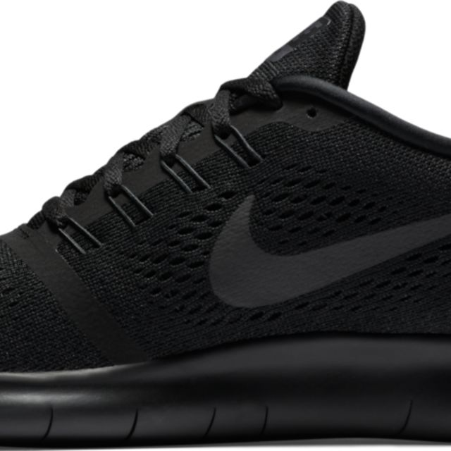 Nike Free Run in Schwarz