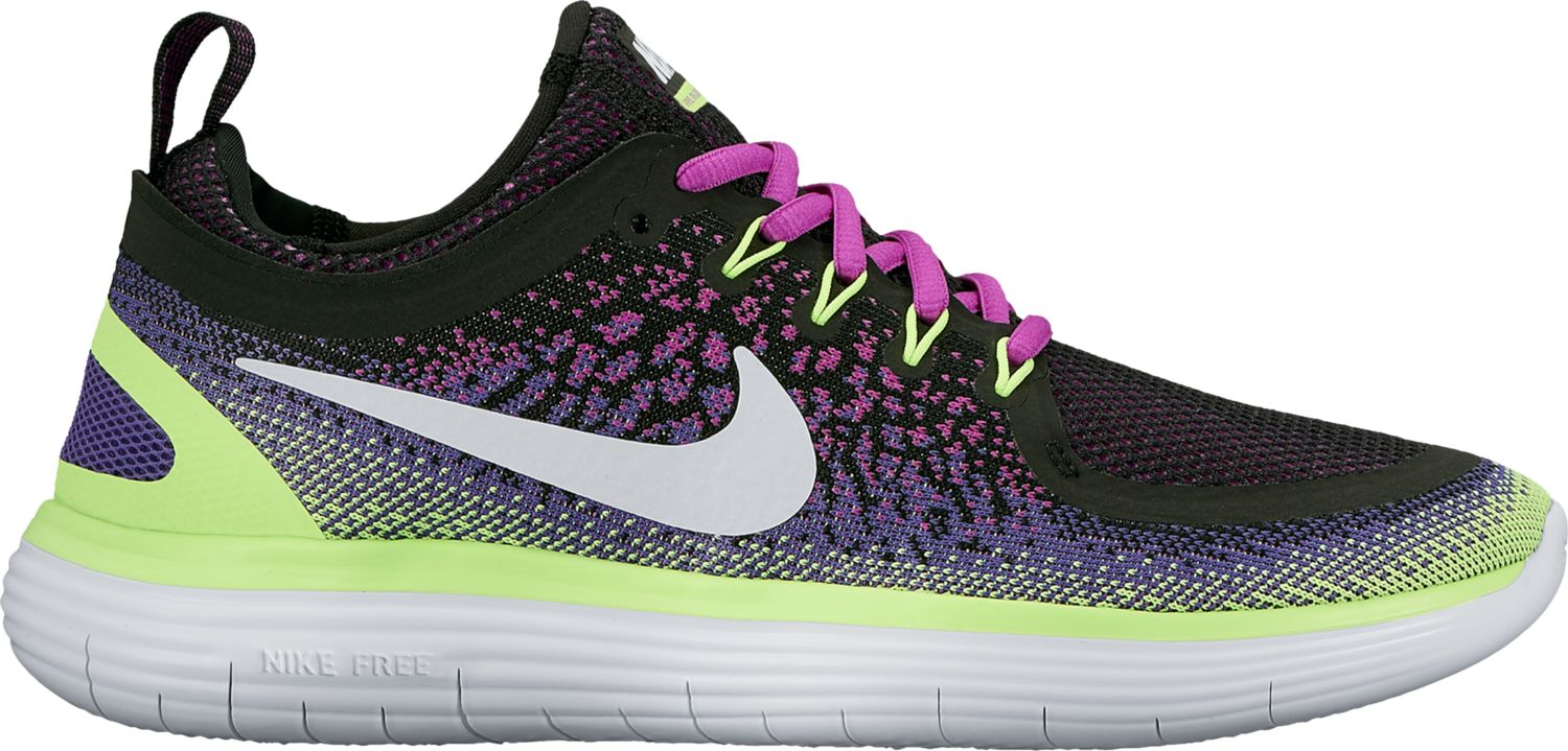 Nike Lady Free RN Distance 2 in Schwarz