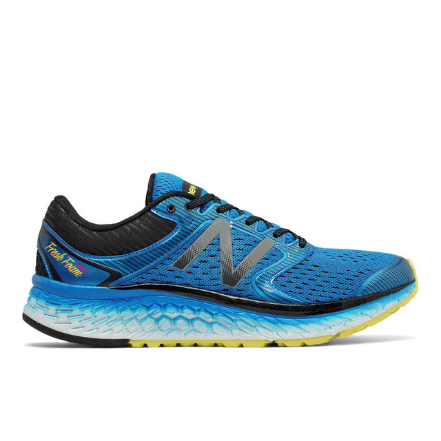 New Balance 1080 v7 in Blue Yellow