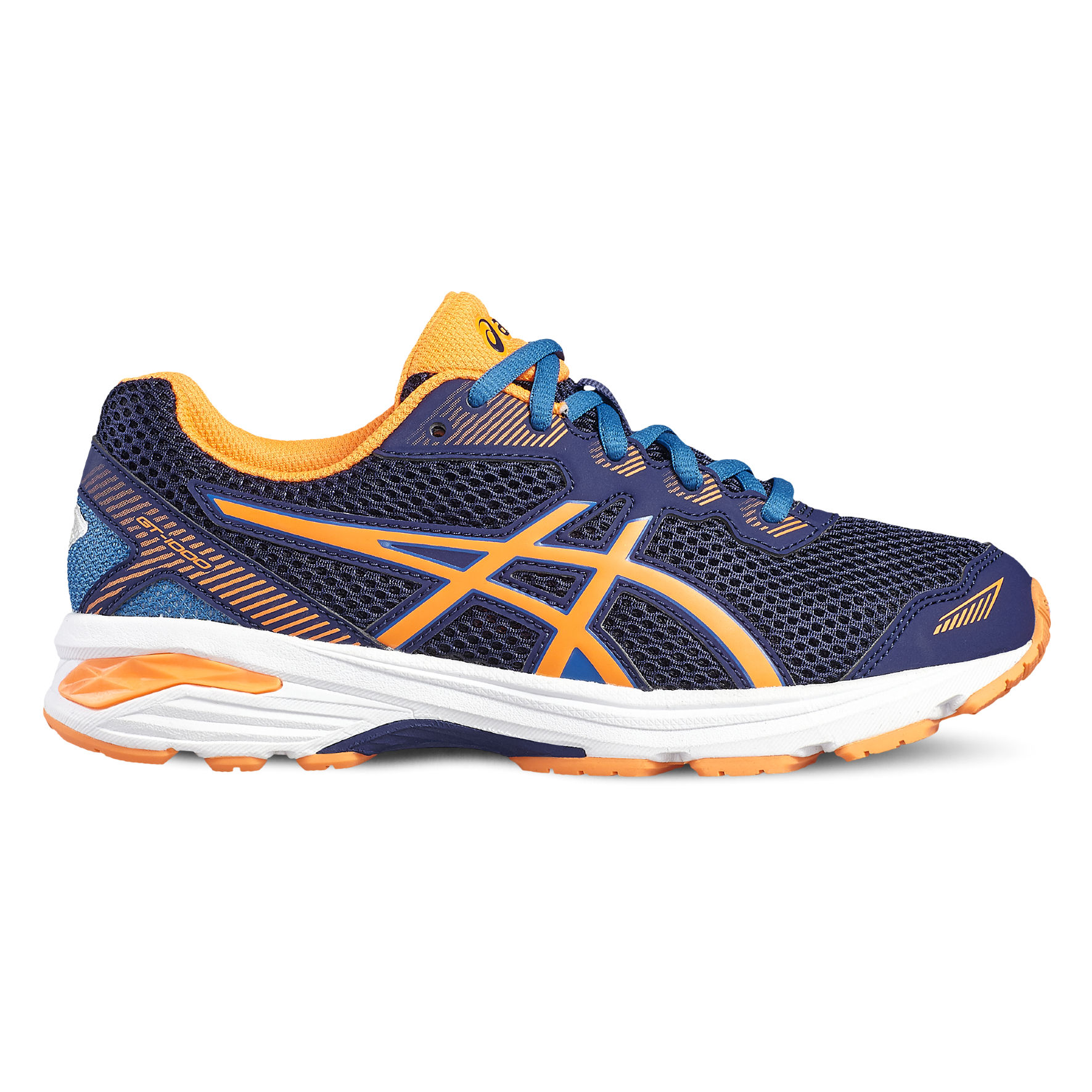 Asics GT-1000 5 GS in Blau Orange
