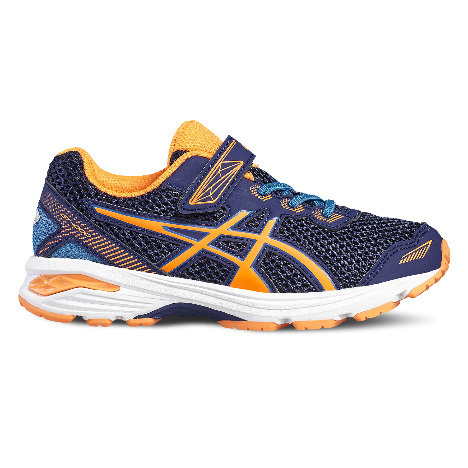 Asics GT-1000 5 PS in Blau Orange