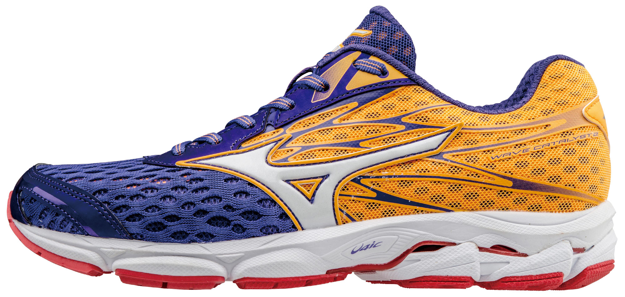 Mizuno Lady Wave Catalyst 2 in Blau Orange