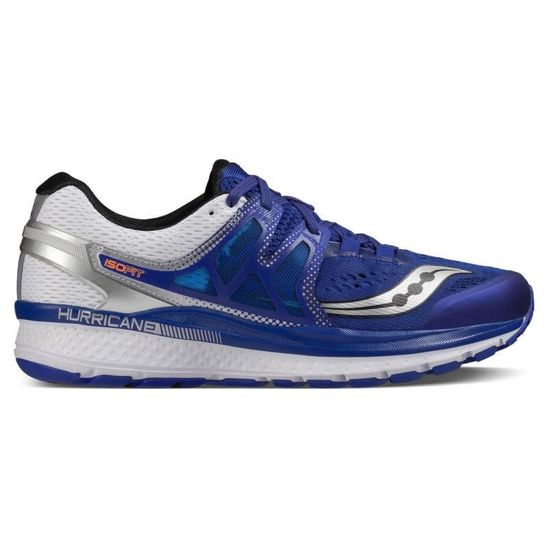 Saucony Hurricane ISO 3 in Blue/White