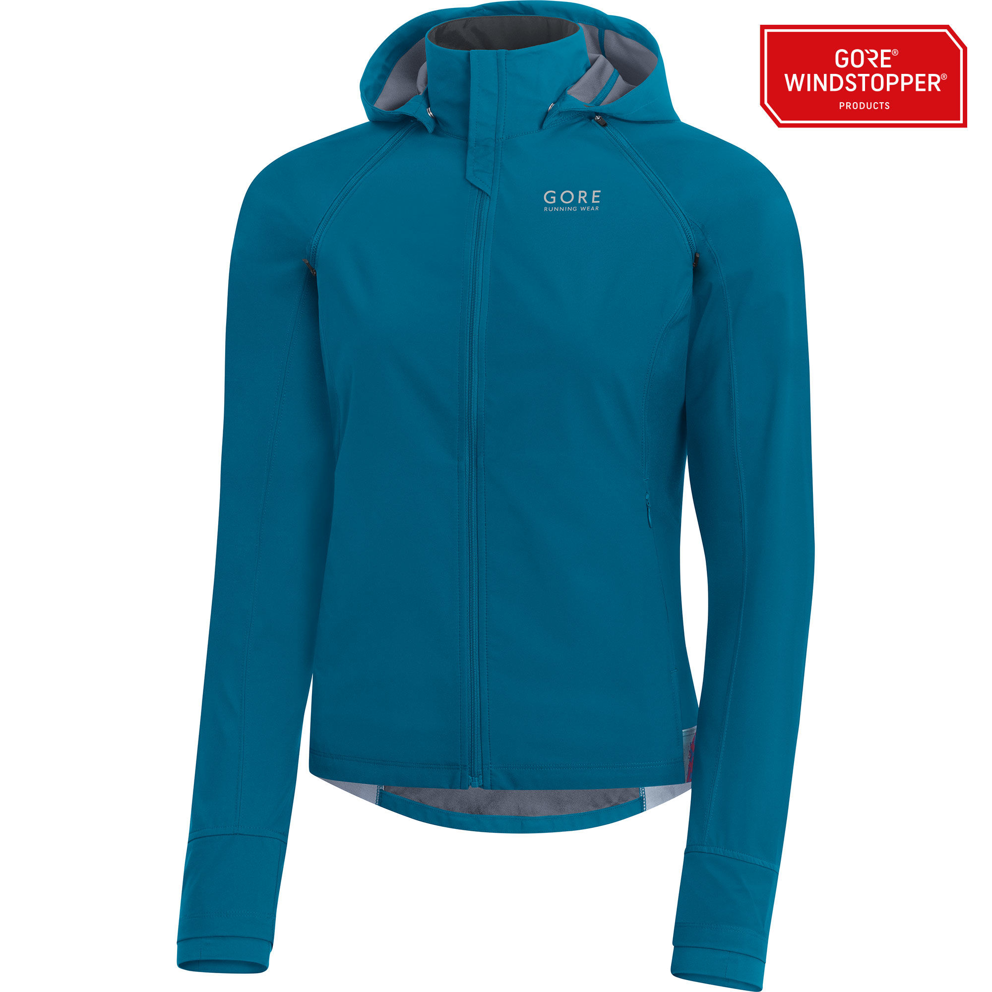 Gore Essential Lady GWS Zip-off Jacket in Blau