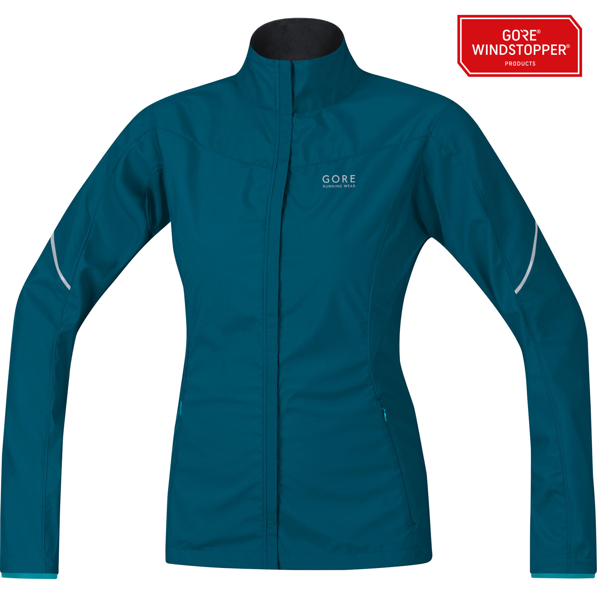 Gore Essential Lady Partial Jacket in Blau