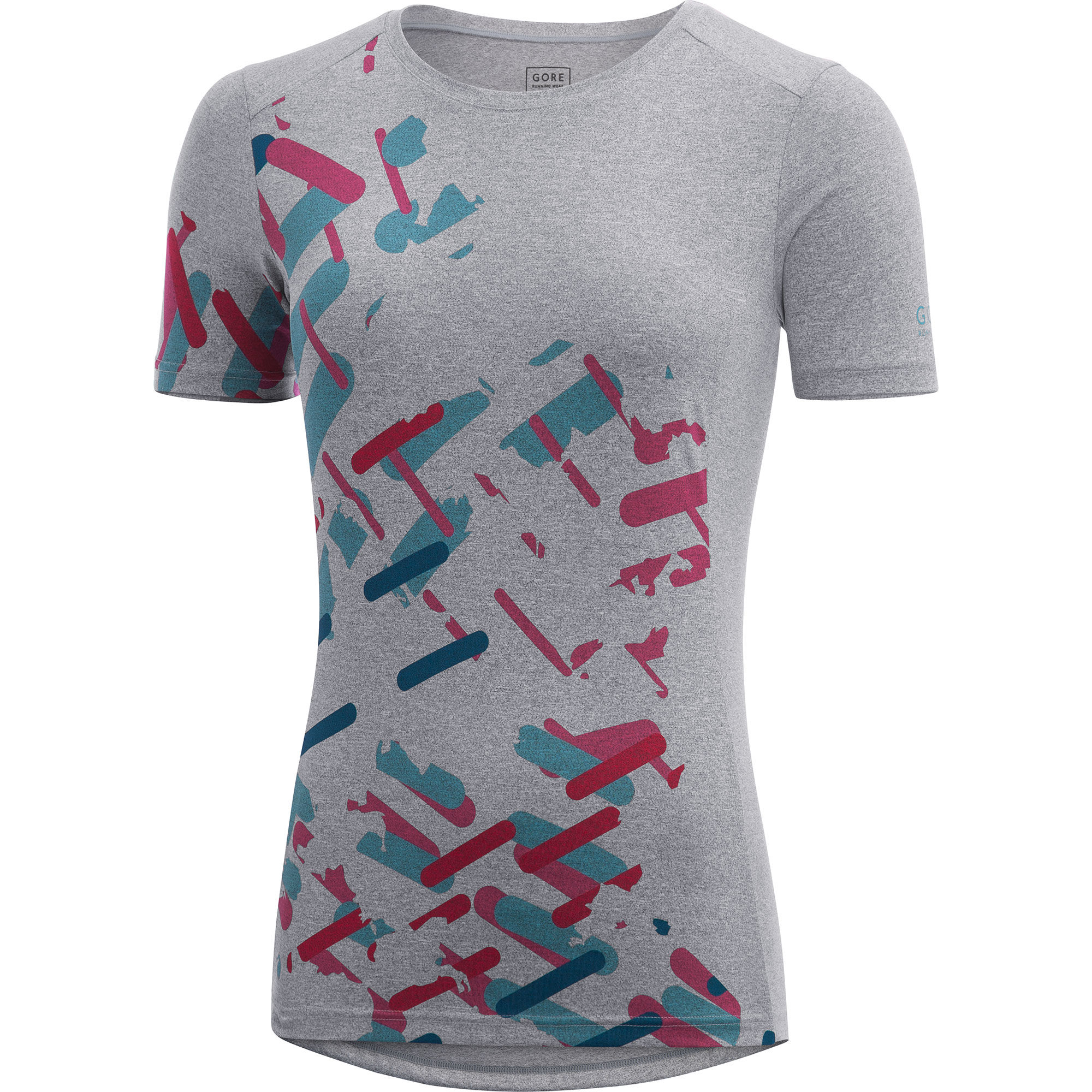 Gore Essential Lady Print Shirt in Grau