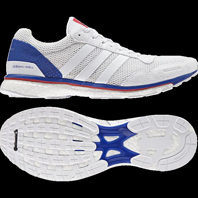 Adidas Adizero Adios in Weiß