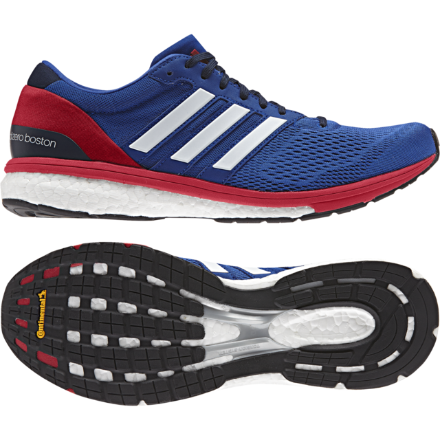 Adidas Adizero Boston 6 in Blau