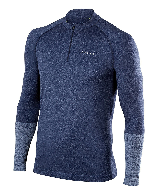 Falke Zip Shirt in Blau