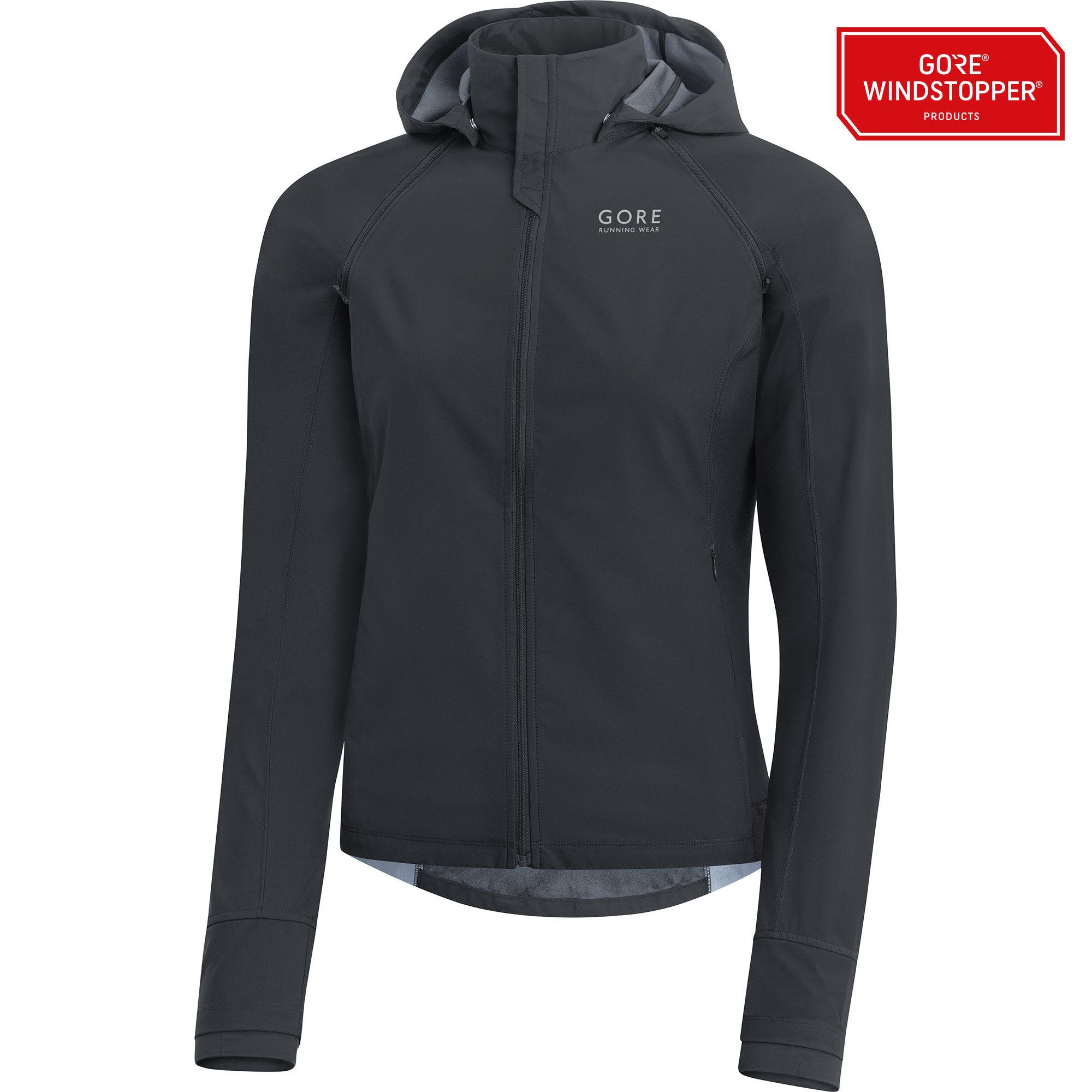Gore Essential Lady GWS Zip-Off Jacket in Schwarz