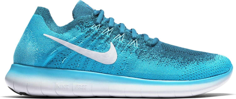 Nike Free RN 2 Flyknit in Blau