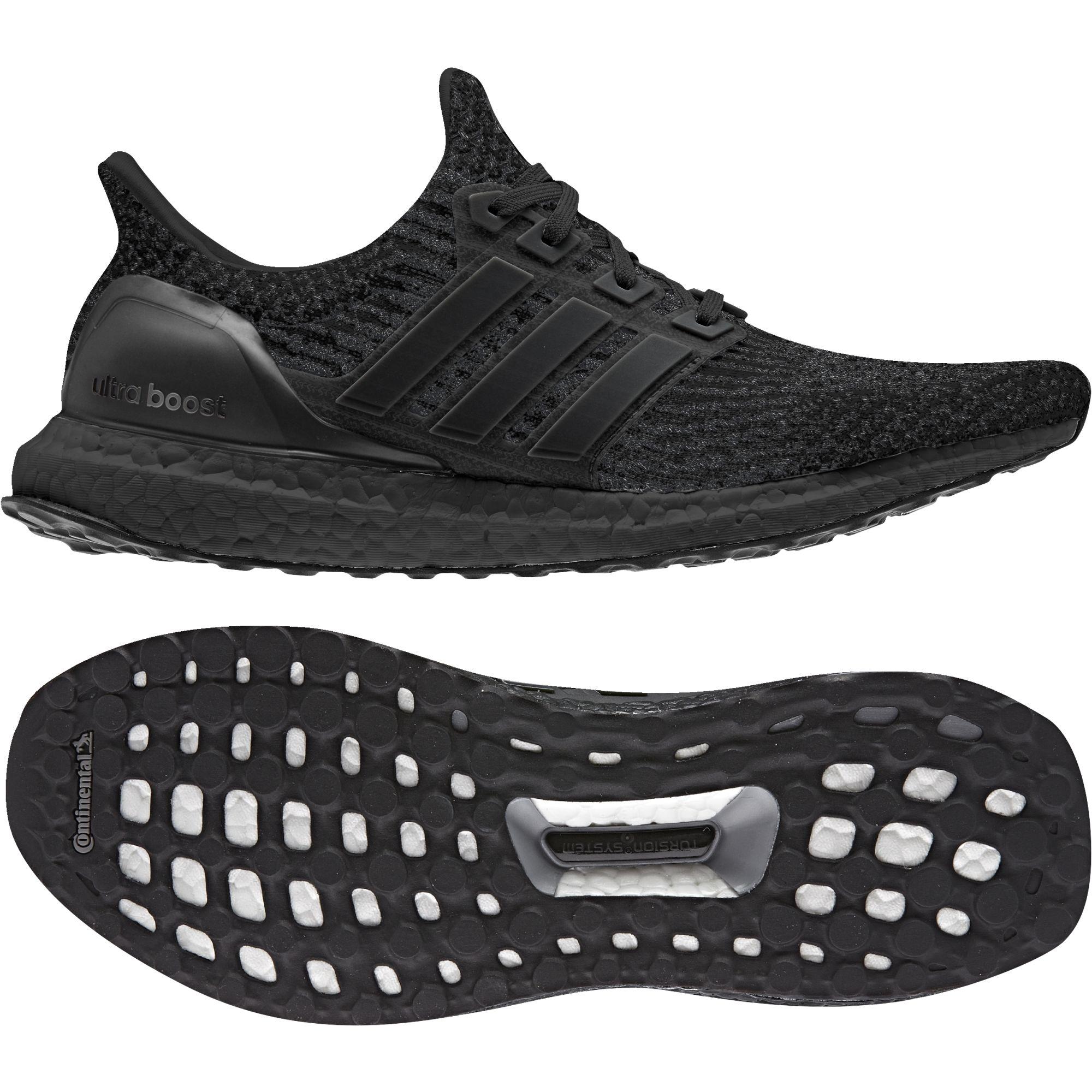 Adidas Ultra Boost 3.0 Triple Black in Schwarz