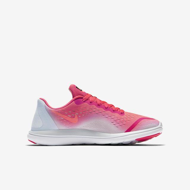Nike Flex Run GS Girls in Weiß Pink
