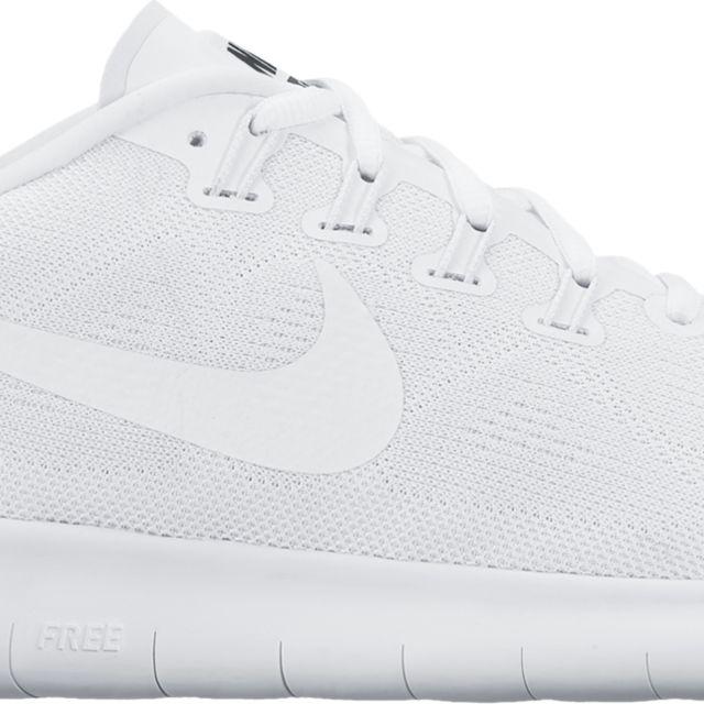 Nike Free RN 2 in Weiß Weiß Weiß