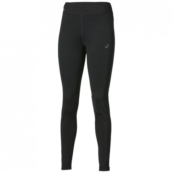 Asics Lady Windstopper Tight in Schwarz