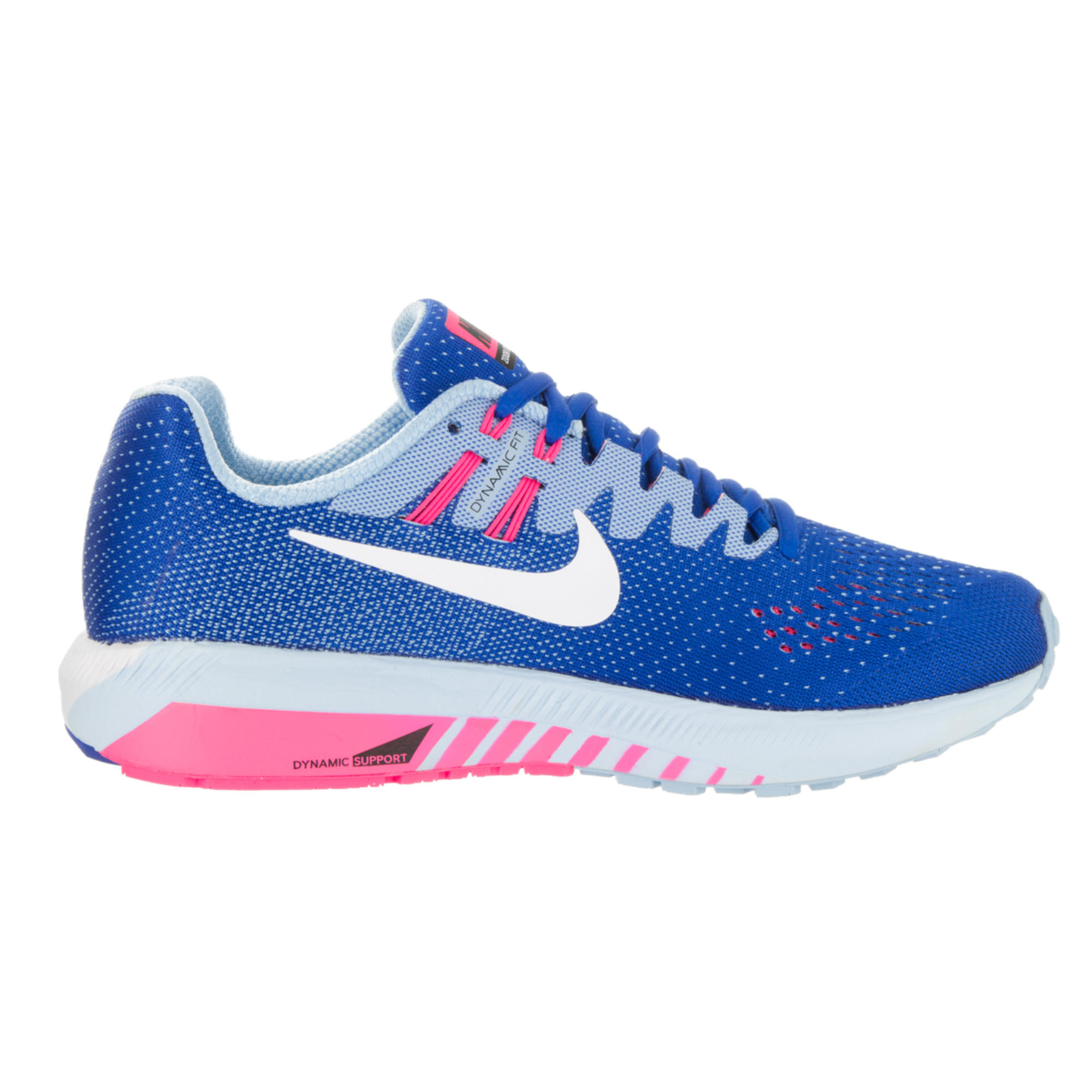 Nike Lady Air Zoom Structure 20 in Blau