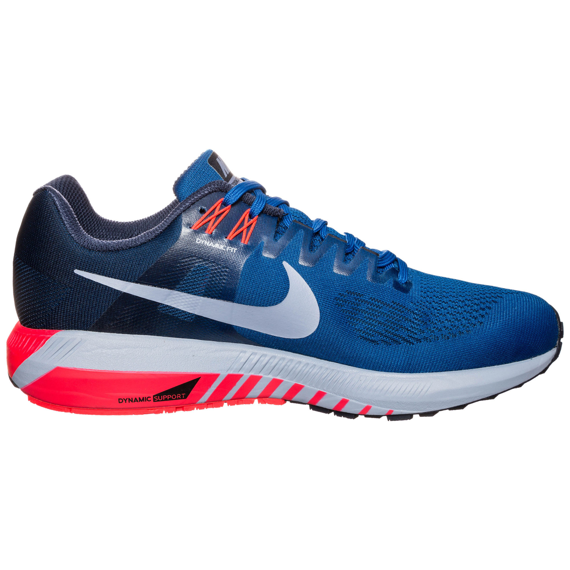 Nike Air Zoom Structure 21 in Blau