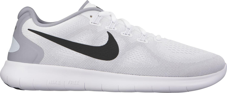 Nike Free RN 2 in Weiß Grau