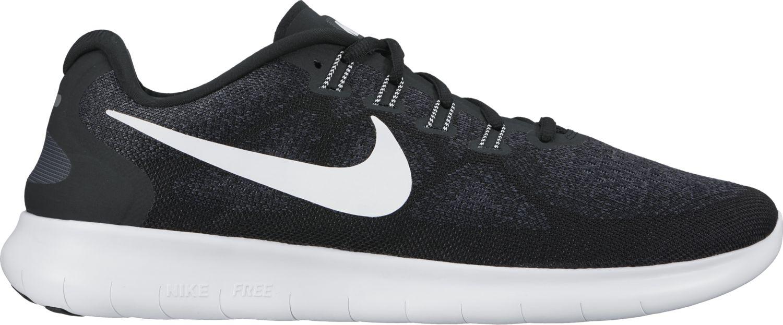 Nike Lady Free RN 2 in Schwarz Weiß